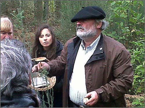 O Engº Gravito Henriques deu uma palestra no campo