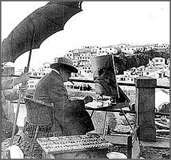 Churchill em Câmara de Lobos (Madeira)