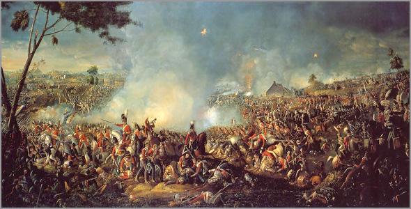 Batalha de Waterloo - Napoleão Bonaparte - Capeia Arraiana