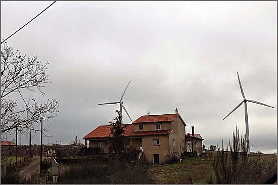 Ampliação do parque eólico de Malcata tem sido contestada (foto malcata.net)