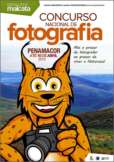 Cartaz do concurso de fotografia
