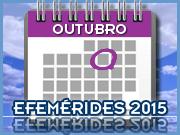 Outubro - 2015 - Efemérides - Capeia Arraiana