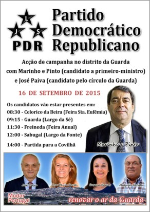 PDR Guarda - Comunicado - Capeia Arraiana