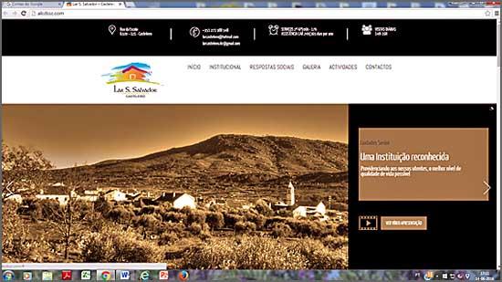 Lar do Casteleiro tem portal na Internet