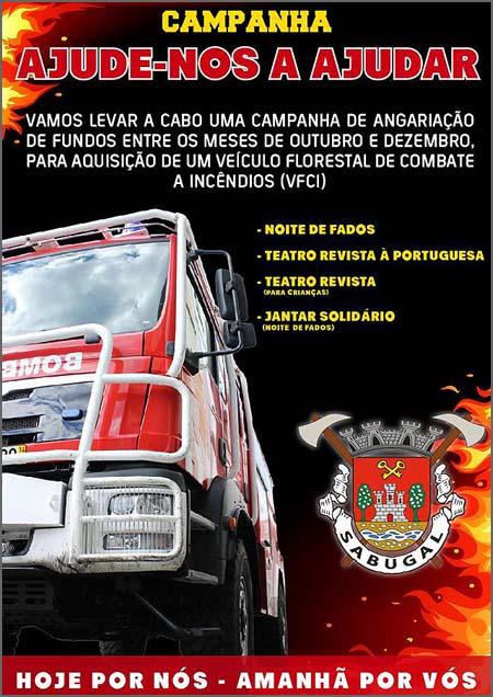 A campanha dos Bombeiros Voluntários do Sabugal