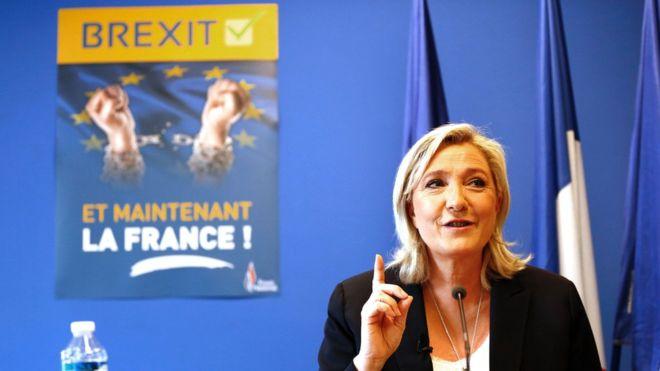 Marine Le Pen é candidata a Presidente da República da França - António Emídio - Capeia Arraiana