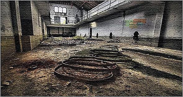 Edifício abandonado na Colónia Agrícola de Martim-Rei - Sabugal - Capeia Arraiana