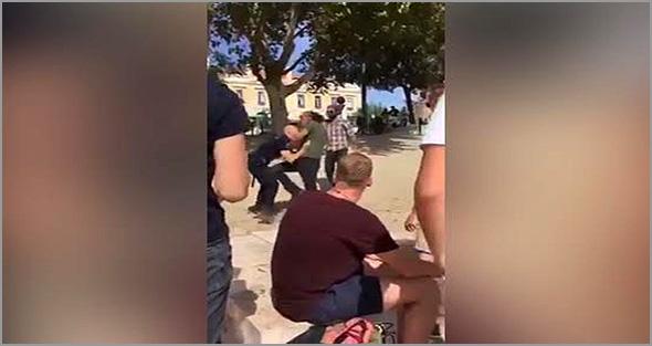 Agressão a um polícia em Lisboa - António Emídio - Capeia Arraiana