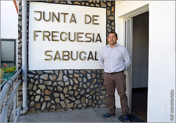 François Baltazar - Presidente da Junta da União de Freguesias do Sabugal e Aldeia de Santo António - Capeia Arraiana