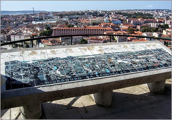 Miradouro da Senhora do Monte na Graça em Lisboa - Capeia Arraiana