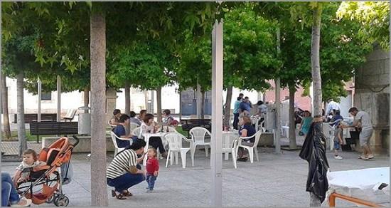 Largo de São Francisco no Casteleiro mais conhecido pelo «Terreiro» (Foto: Viver Casteleiro) - Capeia Arraiana