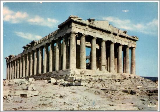 Parthénon em Atenas - Capeia Arraiana