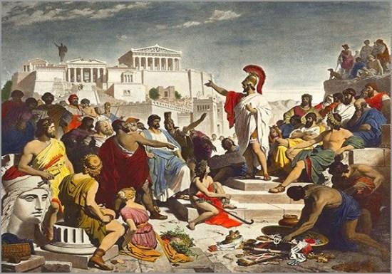 Péricles - Oração fúnebre anual sobre os mortos na guerra - Capeia Arraiana