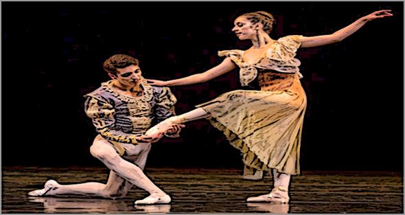 Companhia de Bailado Kayzer Ballet, da Covilhã.