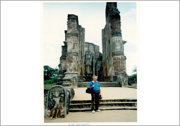 Franklim em Polonnaruwa