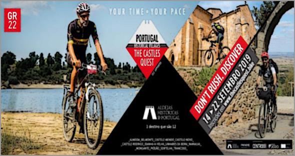 """Este sábado em Sortelha... """"The Castles Quest"""", o desafio   que permite conhecer Aldeias Históricas de bicicleta"""