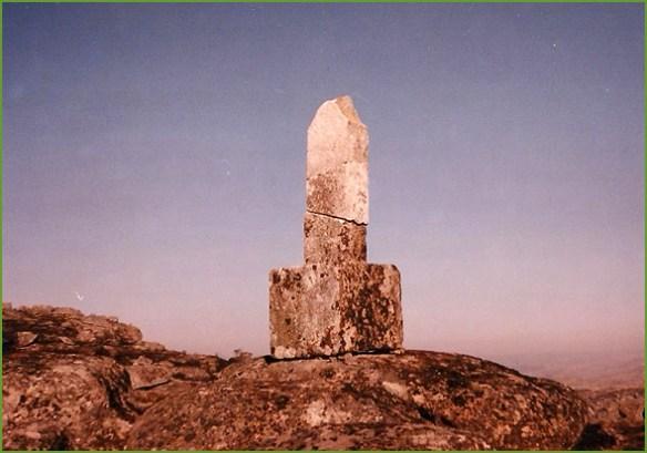 Cruz de João Pinto (Foto de 2001)