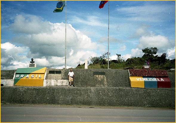 Franklim na fronteira Venezuela-Brasil