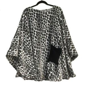 Hospital Gift Women's Fleece Poncho cape