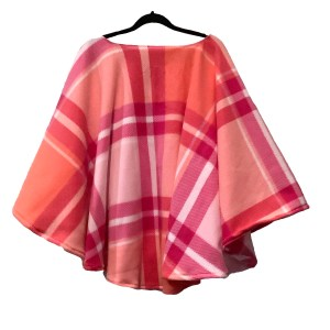 Women's Warm Fleece Poncho Cape