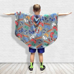 Hospital gift for child fleece poncho