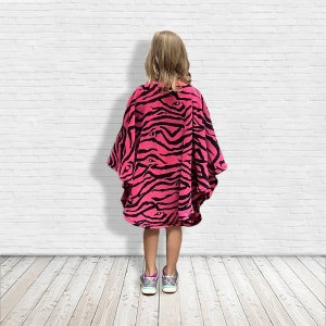 Hospital Gift for child pink zebra cape