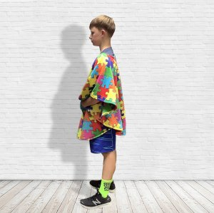 Hospital Gift Child Fleece Poncho