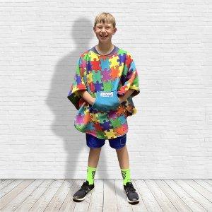 Hospital Gift for Child Fleece Poncho