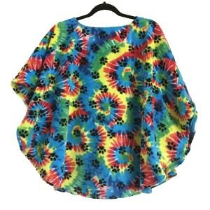 Kids Warm Fleece Poncho Cape