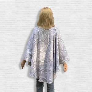 Gift Warm Fleece Poncho Cape