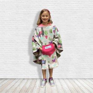 Child Hospital Gift Fleece Poncho Cape