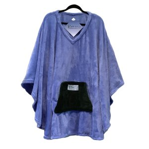 Adult Hospital Gift Poncho Cape Ivy