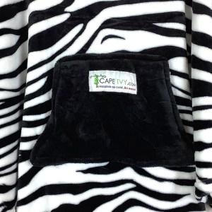 Cape Ivy Black and White Zebra
