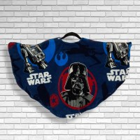 Child Hospital Gift Fleece Poncho Cape Ivy Star Wars™ Darth Vader