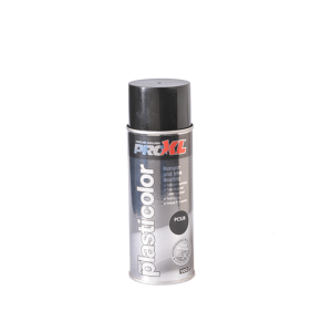 PROXL-PLASTICOLOUR AEROSOL-JET BLACK (400ML)