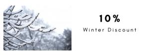 10 % Winter Tree Discount