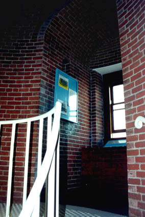 The lighthouse's gently curving bricks, a tapered tower with double walls to include vented space between them, tells 21st Century man that the engineers and craftsmen of pre-Civil War America knew a great deal about building.