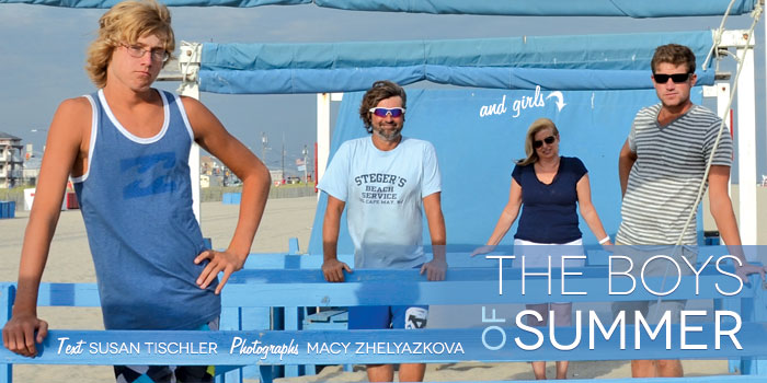 The boys of summer - history of steger beach service