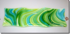 Fused Glass Trays,Plates and a Bowl (1/6)