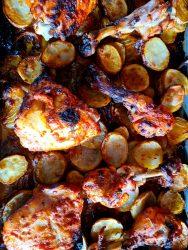 Chicken & Potato Tray Bake