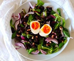 Beetroot Walnut Salad