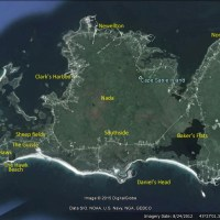 Cape Sable Island map