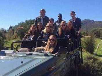 Cape Studies_ESL in Cape Town_Group Safari