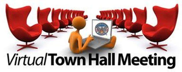 Town Hall Meetings with Mrs Jordan