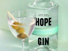 Hope Mediterranean Gin Dirty Martini