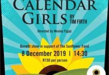 The Sunflower Fund Calendar Girls 2019