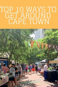 Walking in St Georges Mall Cape Town