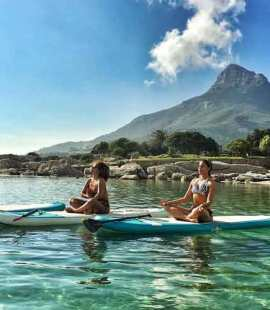 SUP Yoga (Image: Supplied)