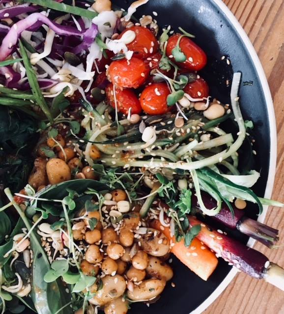 hub café scarborough cape town vegan