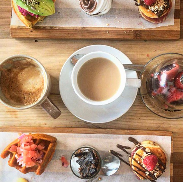 jessy's waffles gardens cape town vegan